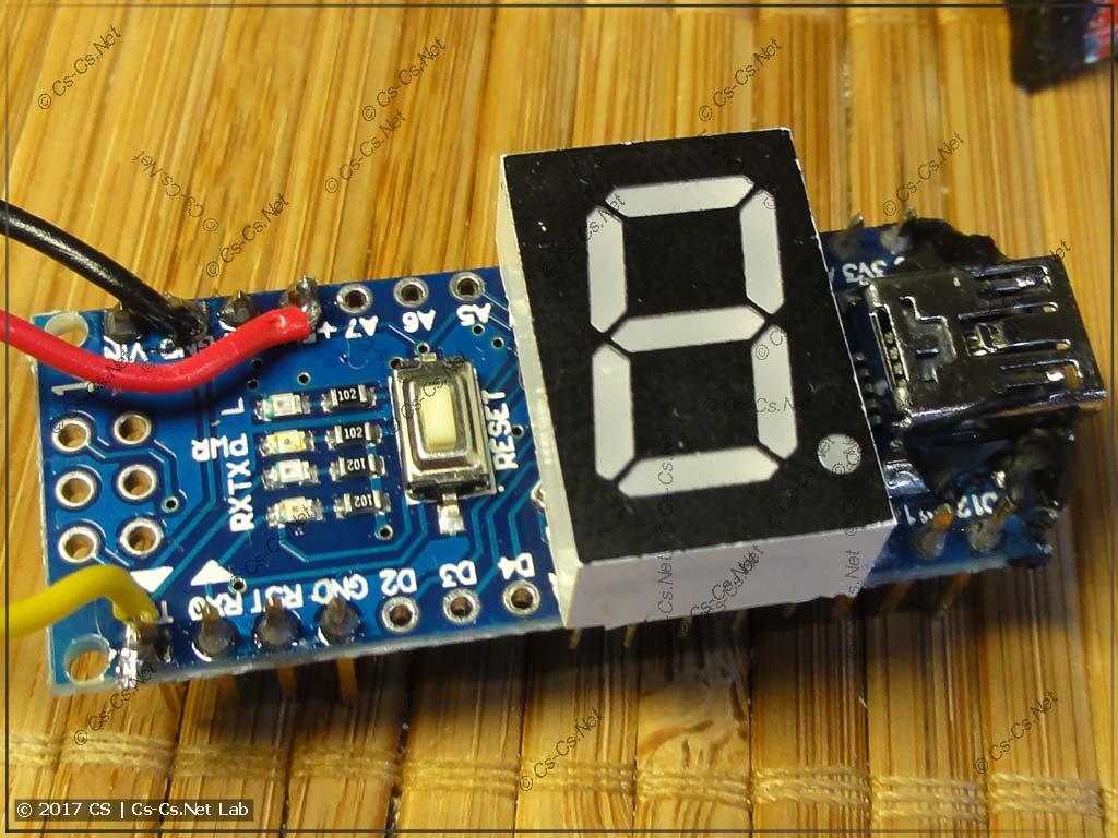 Arduino Nano в SmartShow NetDMX II во всей красе
