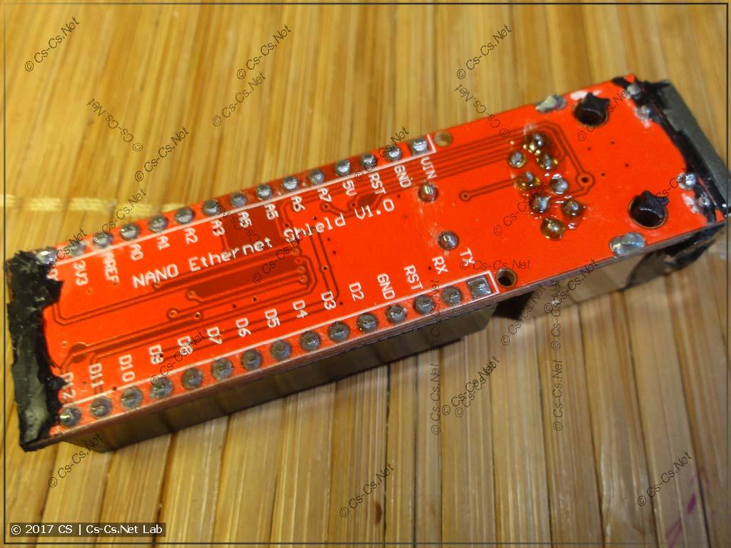 Модуль Ethernet на базе ENC28J60 для Arduino Nano