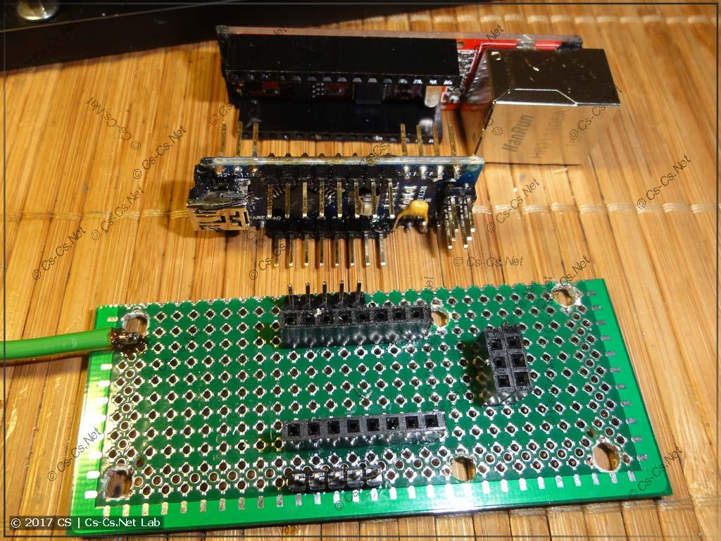 Делаем конструкцию для того, чтобы установить Arduino в рэковый корпус