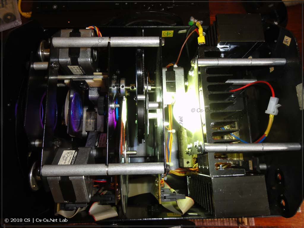 Первое включение сканера со светодиодом вместо лампы