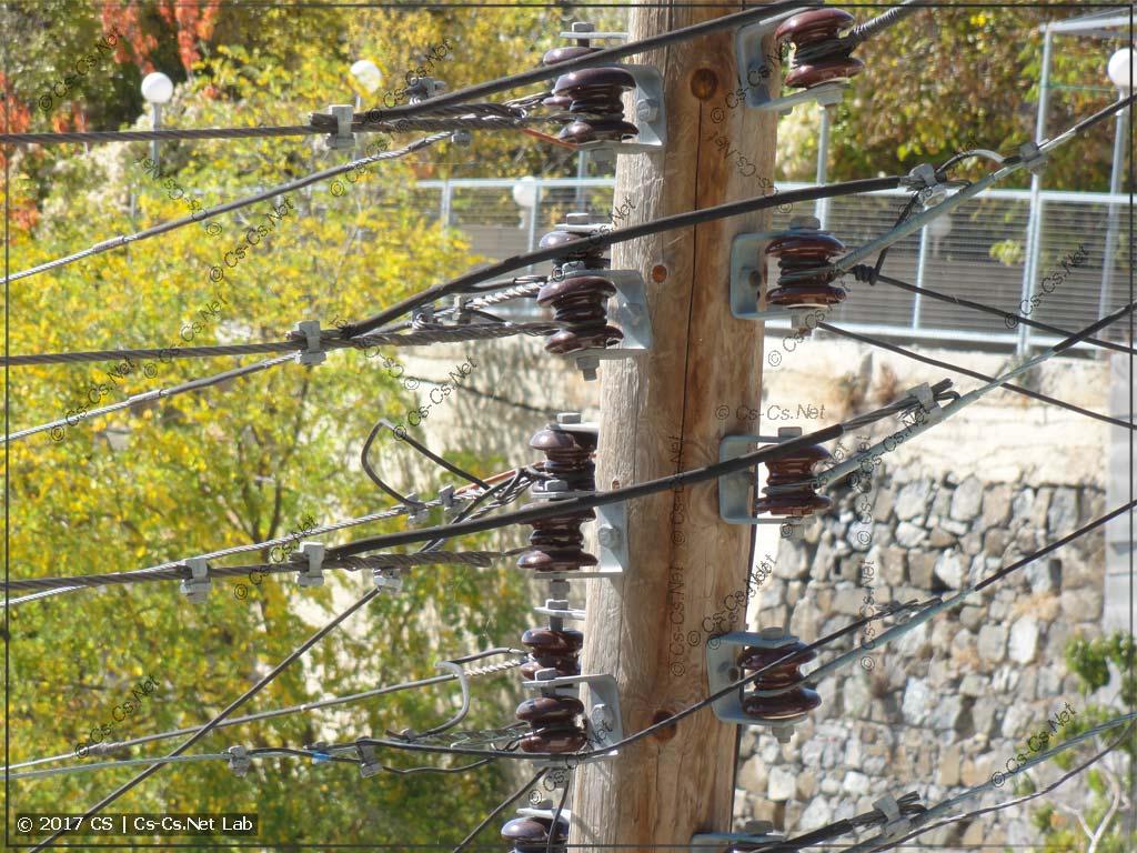 Электросети 0,4 кВ на Кипре