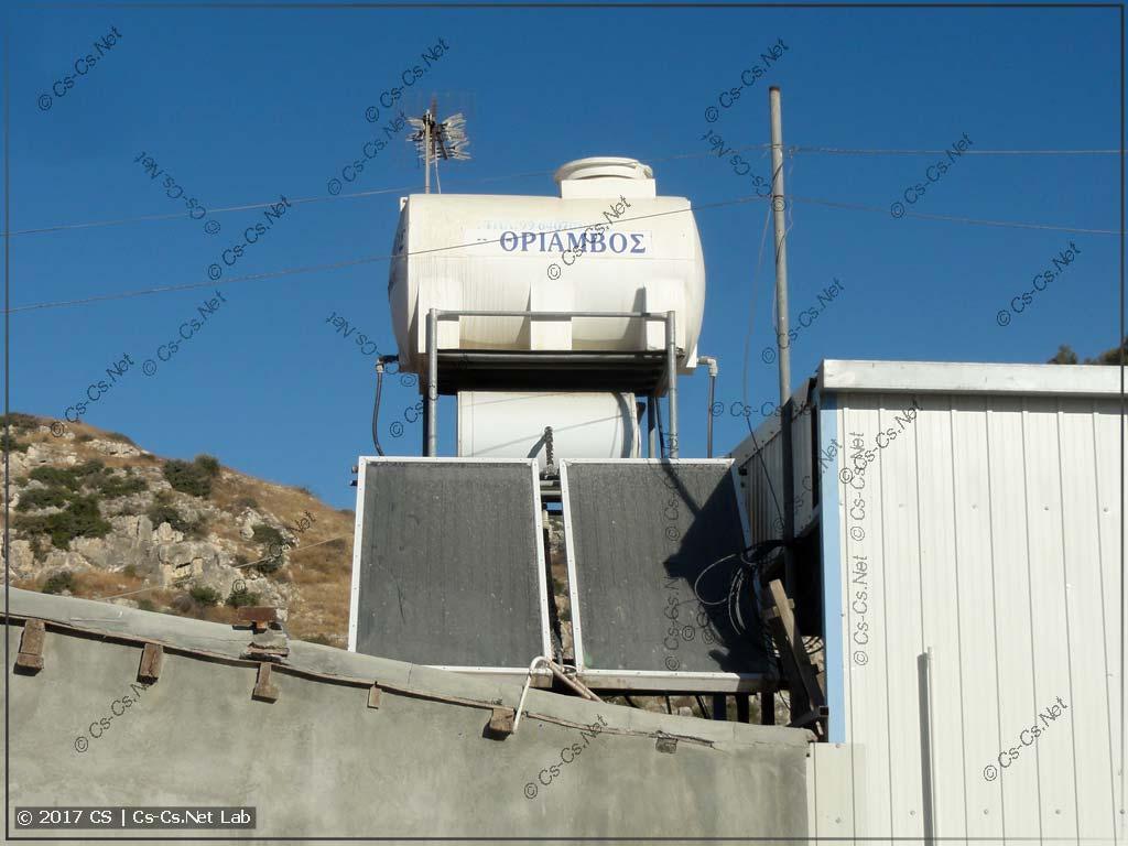 Солнечные нагреватели для воды
