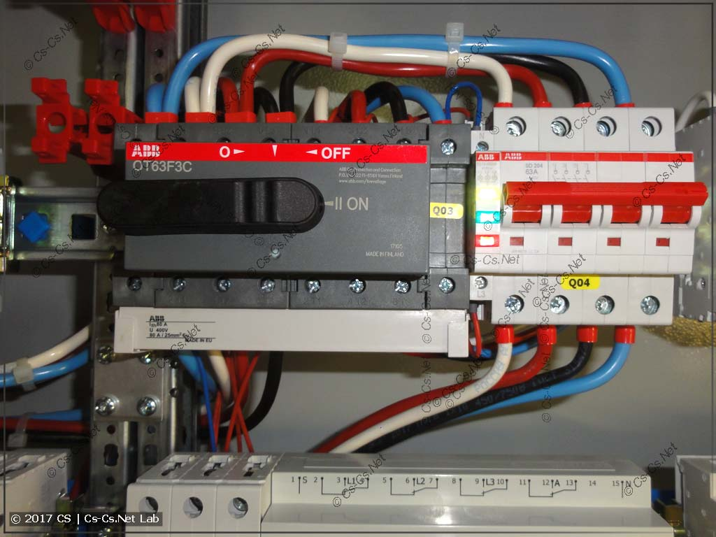 Собираем обвязку стабилизаторов (байпас)