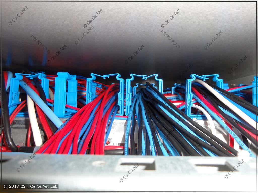 Держатели ED45P10 в шкафу глубиной 225 мм отлично встают!