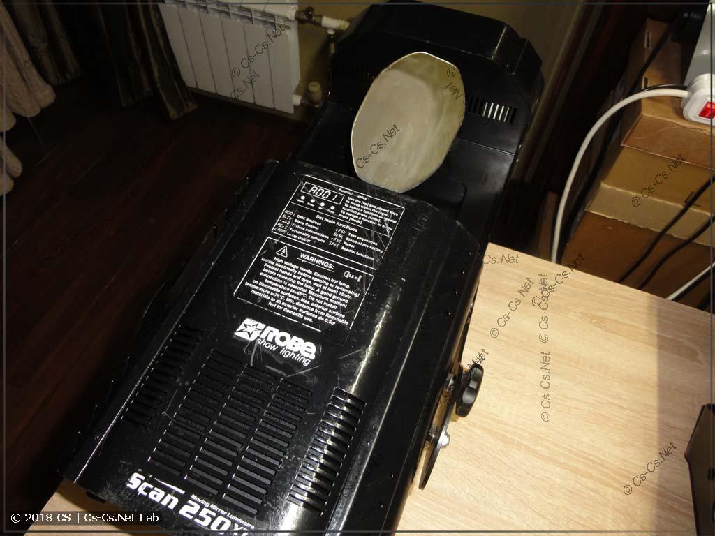Сканер ROBE Scan 250 XT после покупки и небольших переделок