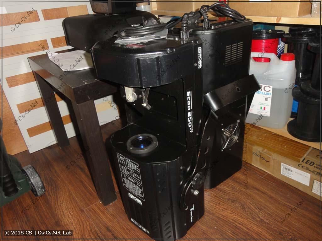 Сканеры Scan 250 XT сазу после покупки (зеркала отклеены)
