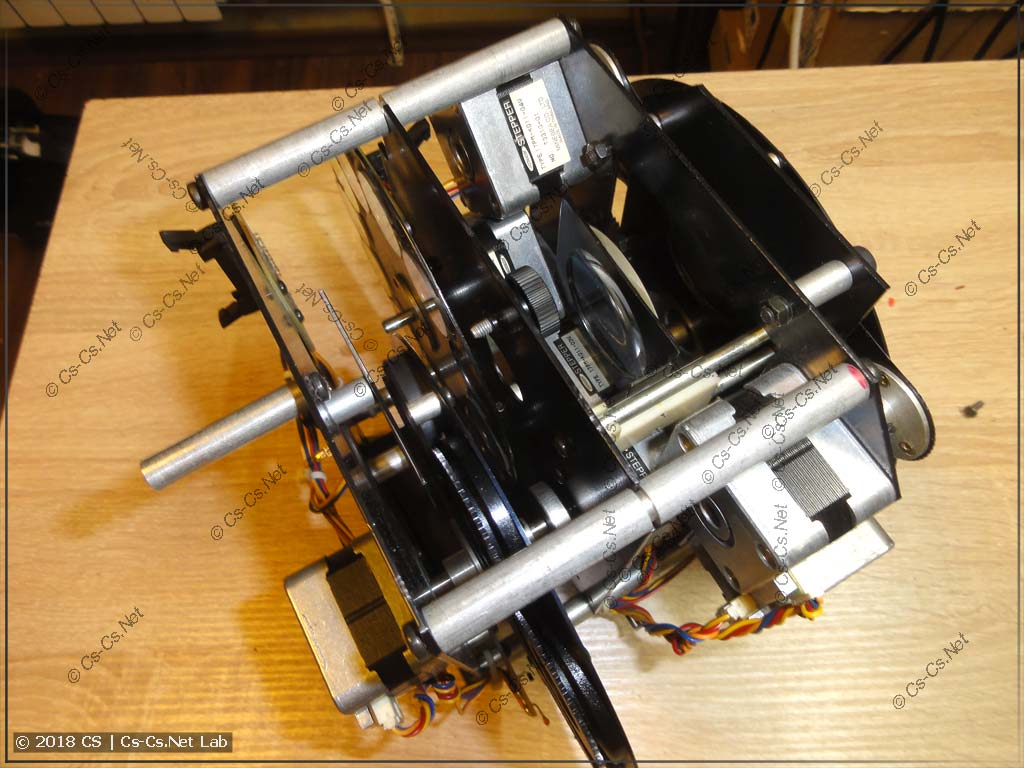 Блок оптики сканера ROBE Scan 250 XT