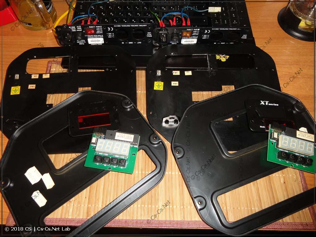 Все компоненты шасси готовы к сборкам