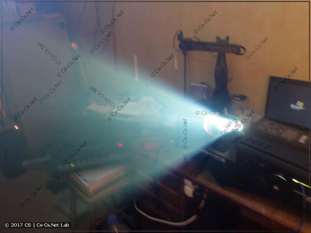 Сканер ROBE Scan 250XT, переделанный на светодиод (луч)
