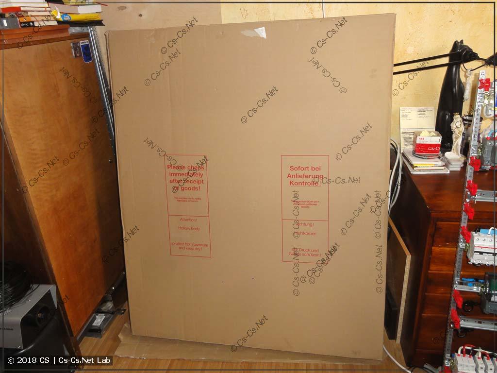 Коробка с корпусом щита типа B
