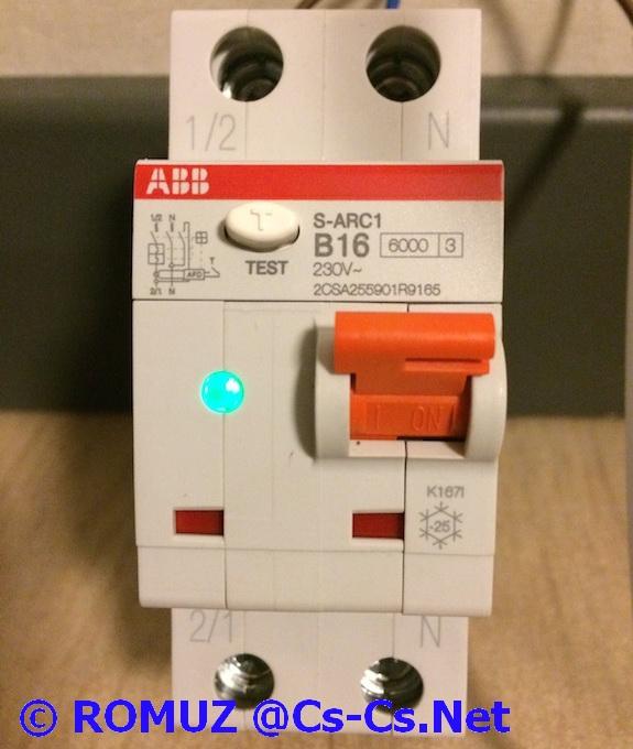 Устройство защиты от дуги ABB S-ARC1 (©ROMUZ)