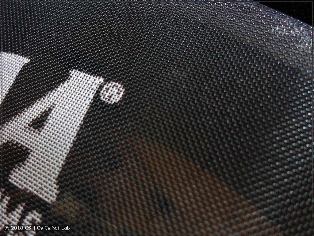 Структура кевларовой сетки - это и правда сетка