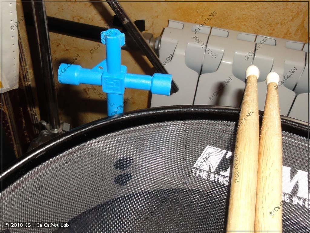 Ключик ZH91 от ABB, как оказалось, отлично подходит для настройки барабанов