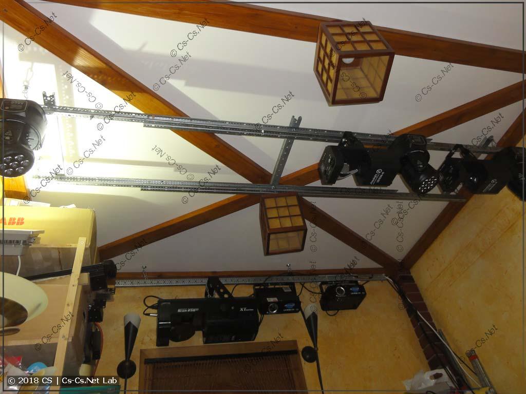 Рама для подвески светового оборудования из WR-профиля