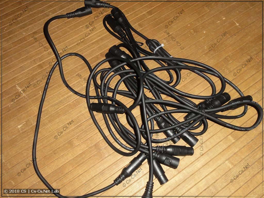 Китайские кабели DMX - дрянь (в помойку)