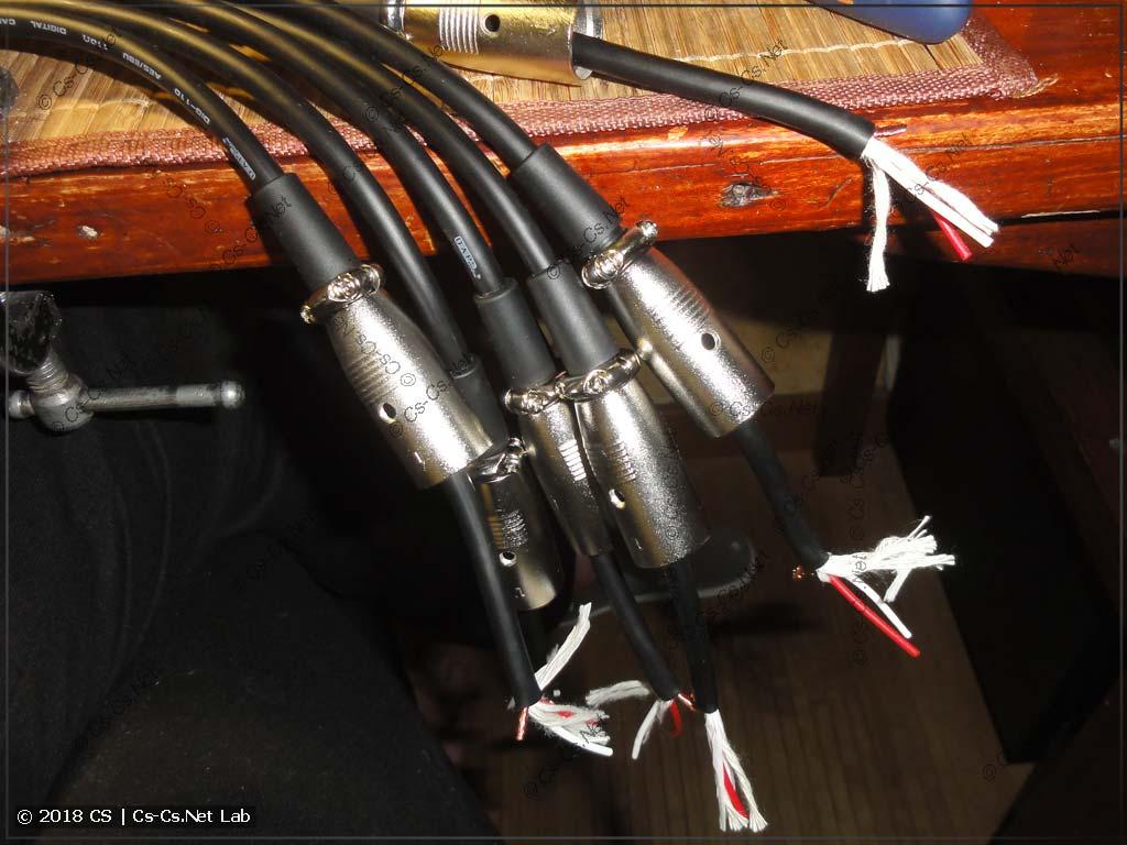 Паяем новые DMX-кабели из кабеля DAP DIG-110