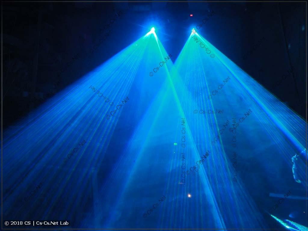 Лазеры в режиме заливки