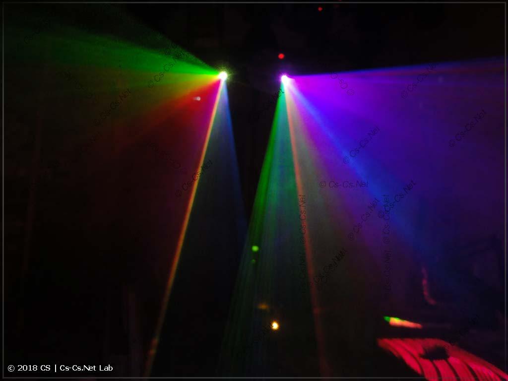 Лазеры в режиме рисования