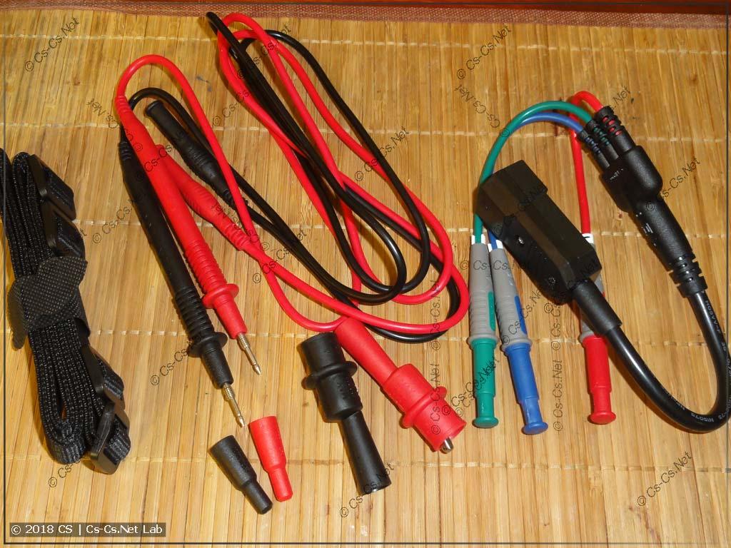 Комплект тестовых проводов прибора Uni-T UT-526