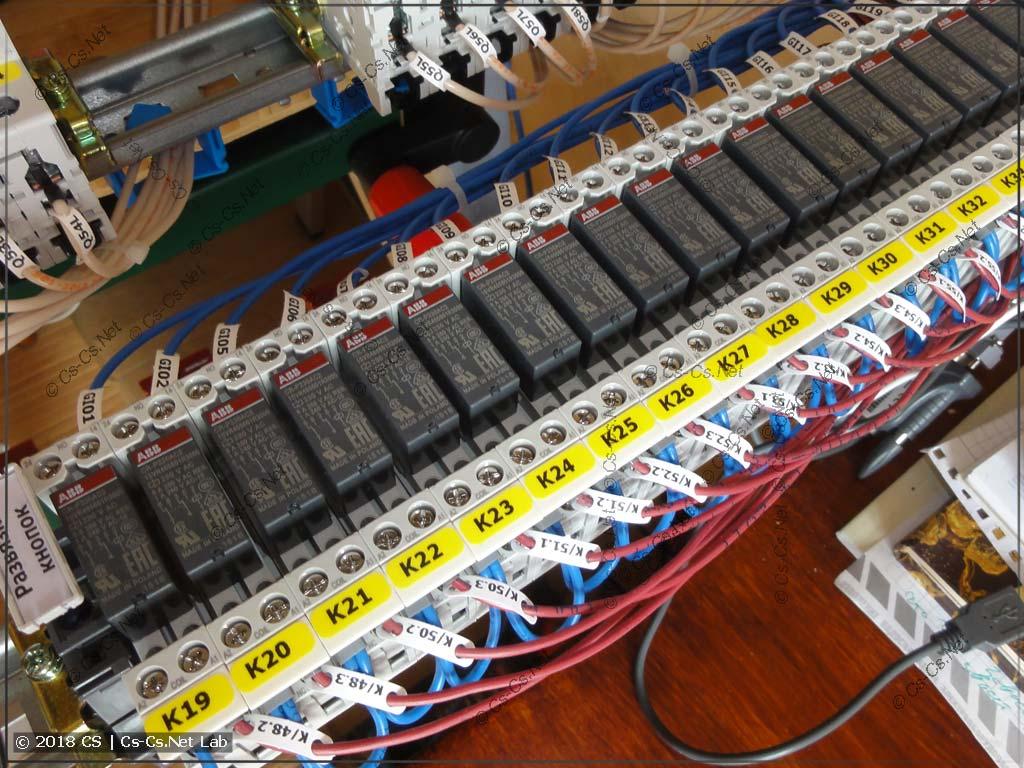 Реле серии CR-P для развязки подсветок кнопок управления светом