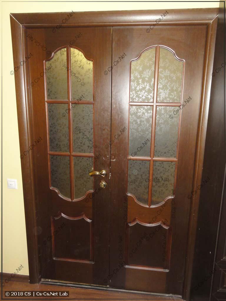 Отремонтированная межкомнатная дверь в Одинцово