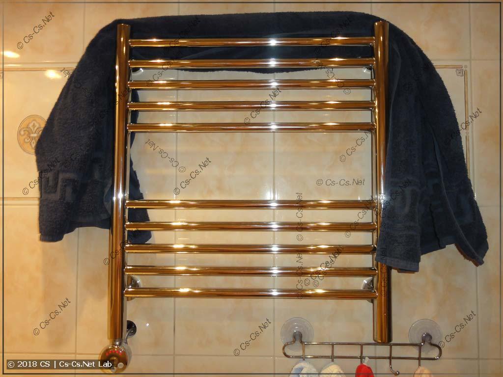 Электрический полотенцесушитель Сунержа вместо водяного