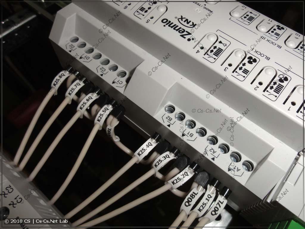 Модуль релейной автоматики Zennio MAXinBox