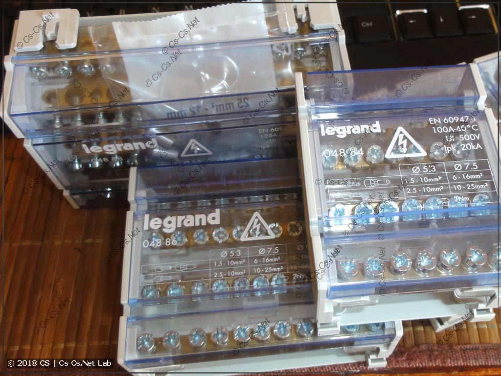Новые кросс-модули от LeGrand после покупки