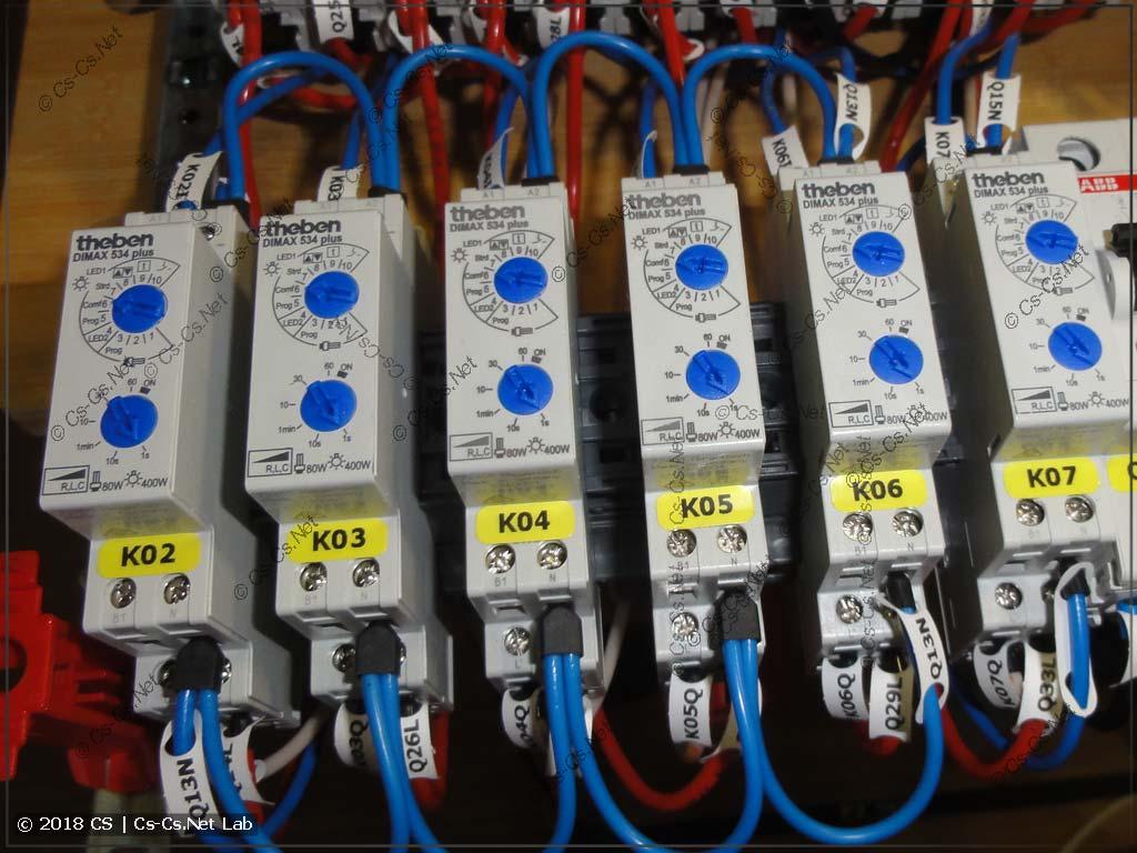 Диммеры Theben DiMAX 534 Plus для управления светом в комнатах