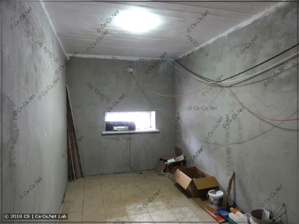 Место под два шкафа TwinLine у одного из заказчиков (щитовая)