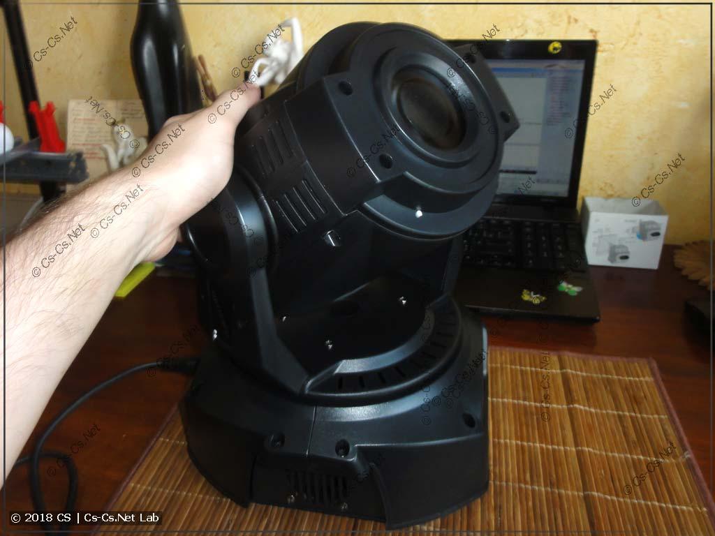 Светодиодная голова LED Spot 90W перед включением