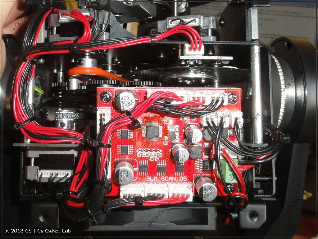 Плата управления моторами светодиодной головы Spot 90W