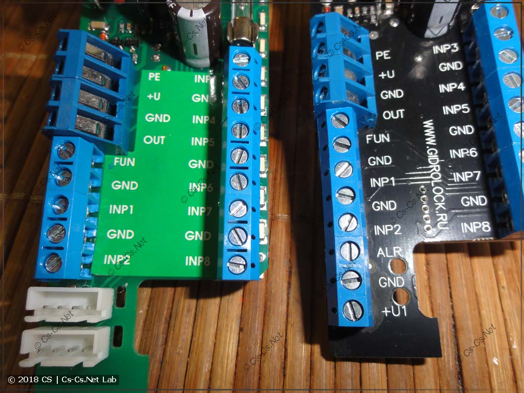 Клеммы для подключения модулей защиты от протечек GidroLock Premium и Control