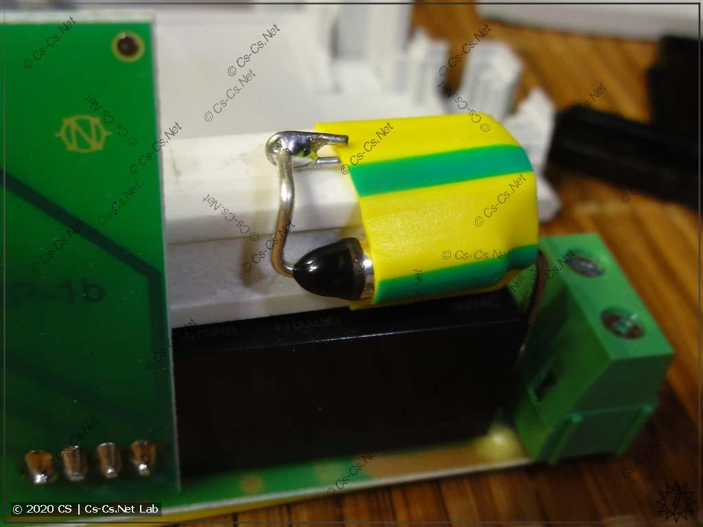 Термозащита внутри реле компенсации пусковых F&F МК-5-1