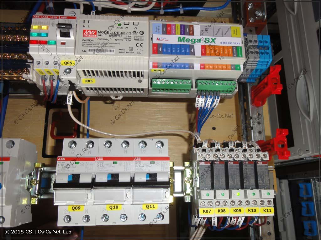 Блок автоматики Zont для SMS-управления и его обвязка