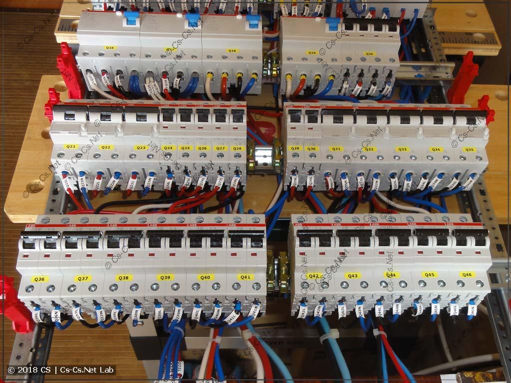 Автоматы и дифавтоматы защиты отходящих линий