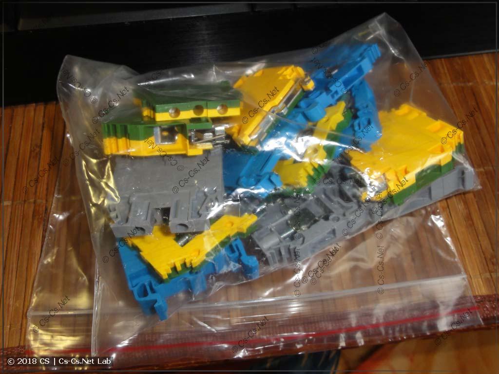 Правильная упаковка клемм: в пакеты, из которых ничего не потеряется