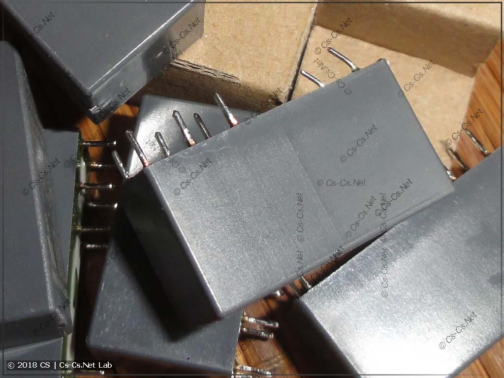 Реле серии CR-P с погнутыми контактами (склад и доставка от ЭТМ)
