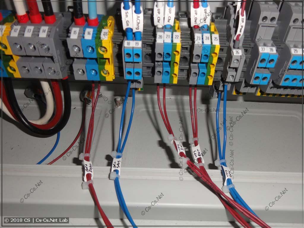 Эмулятор IPM подключен в щит на соплях