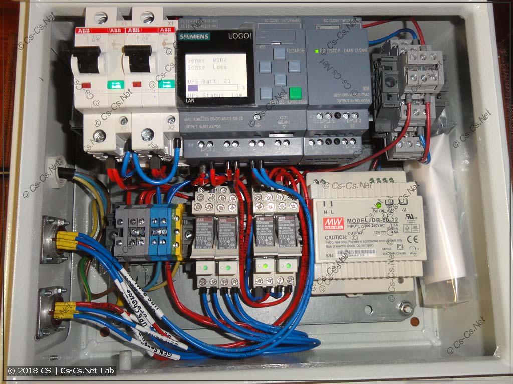 Вся начинка IPM-E поставлена в корпус и подключена