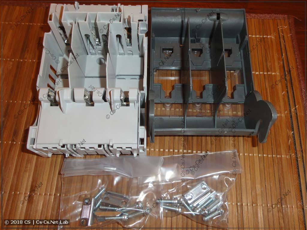 Комплект поставки рубильника XLP