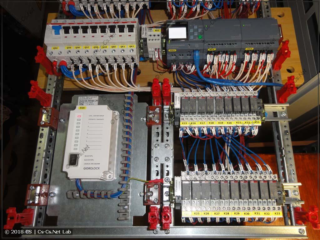Автоматика щита: GidroLock, Logo для управления освещением