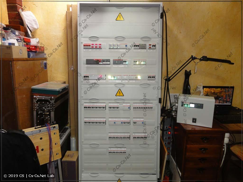 Силовой шкаф в Ядромино: IPM™, обычные силовые линии для питания коттеджа