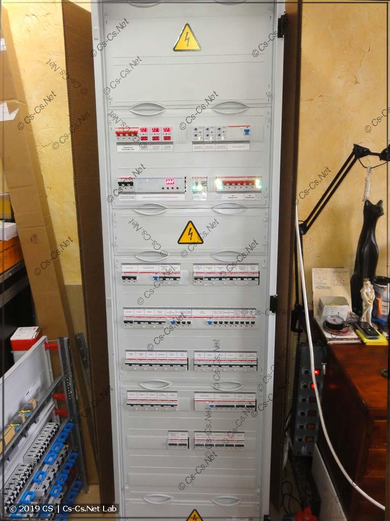 Вид собранного шкафа (TwinLine 2x12)