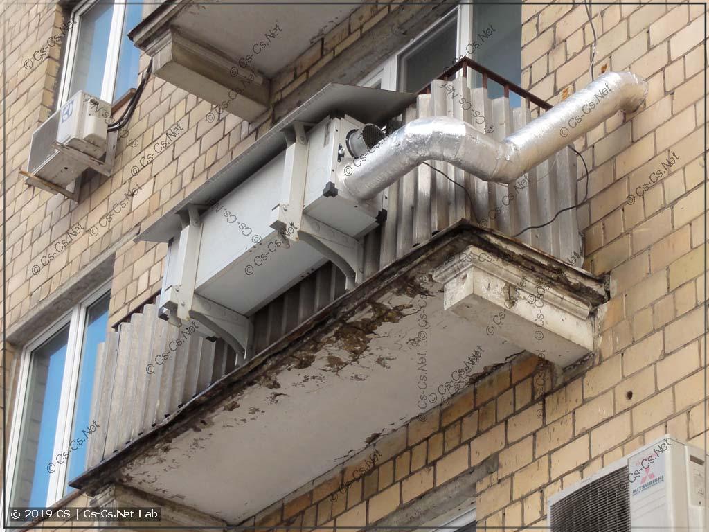Кто-то сделал адски зверскую приточную вентиляцию
