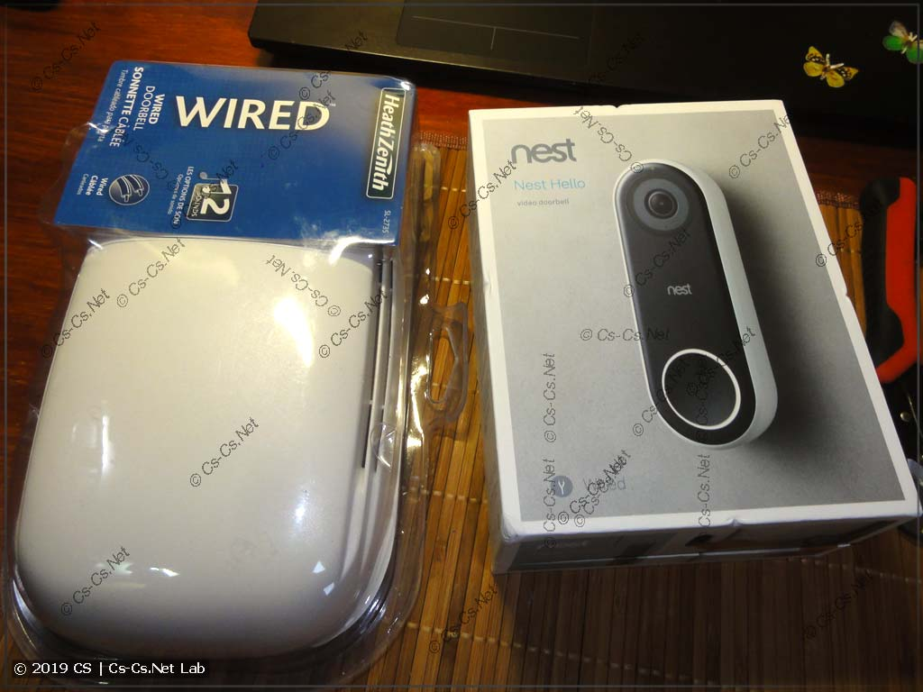 Хипстерский видеозвонок Nest Hello и проводной звонок для его подключения