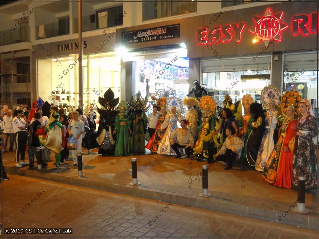 Medieval Fest на Кипре в 2018 (уличный парад)