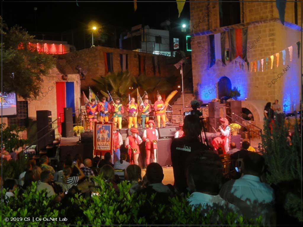 Medieval Fest на Кипре в 2018 (одно из выступлений)