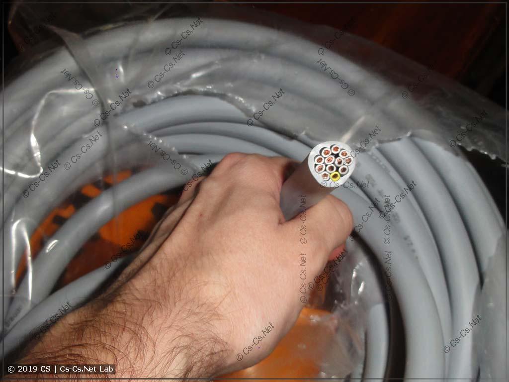 Суровый кабель LAPP 12х2,5 для одного из проектов