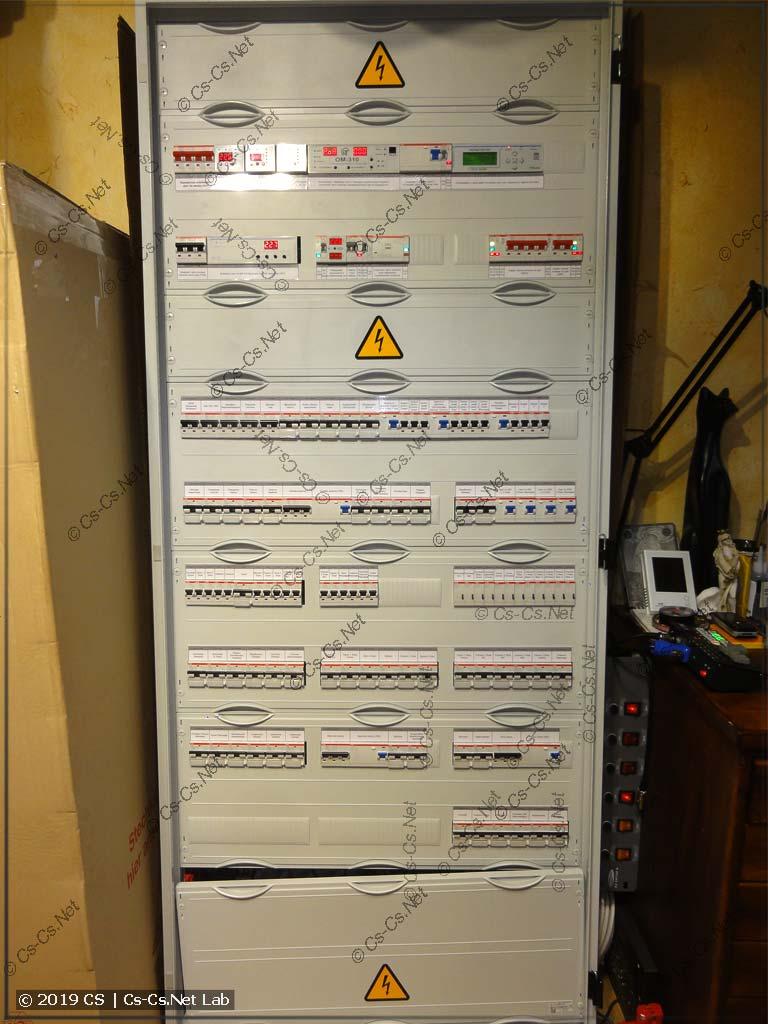 Силовой шкаф для таунхауса в Долгопрудном (почти целиком на НоваТеке)